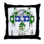 Kidd Coat of Arms Throw Pillow