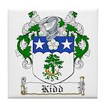 Kidd Coat of Arms Tile Coaster