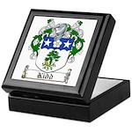 Kidd Coat of Arms Keepsake Box