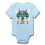 Kidd Coat of Arms Infant Creeper