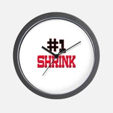 Number 1 SHRINK Wall Clock
