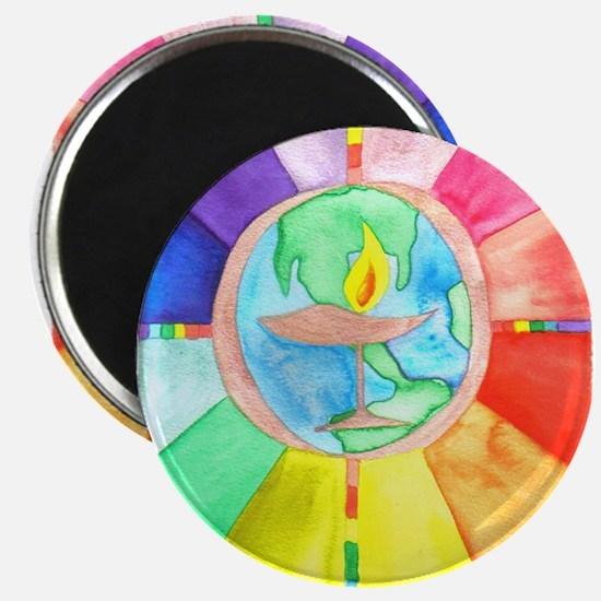 UU World Chalice Magnet