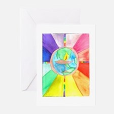 UU World Chalice Greeting Cards (Pk of 20)