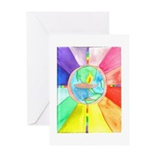 UU World Chalice Greeting Card