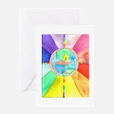 UU World Chalice Greeting Card