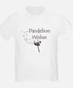 Kids' Dandelion Wishes Light T-Shirt