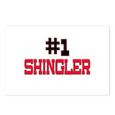 Number 1 SHINGLER Postcards (Package of 8)