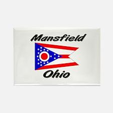 Mansfield Ohio Rectangle Magnet