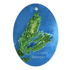 Cape Breton Oval Ornament
