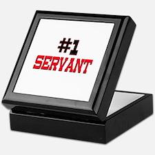 Number 1 SERVANT Keepsake Box