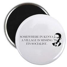 "Cute Obama lied 2.25"" Magnet (100 pack)"