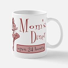 Red Mom's Diner Mug