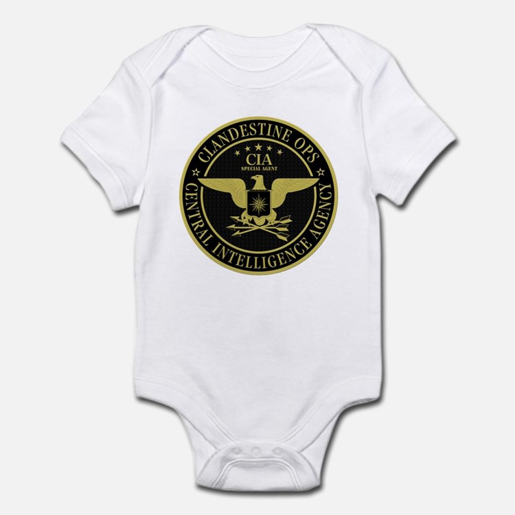 CIA Clandestine Ops Infant Bodysuit