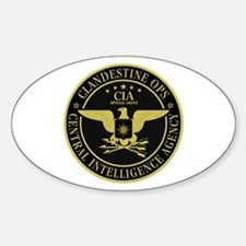 CIA Clandestine Ops Oval Decal