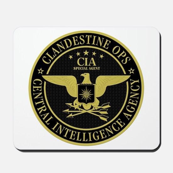 CIA Clandestine Ops Mousepad