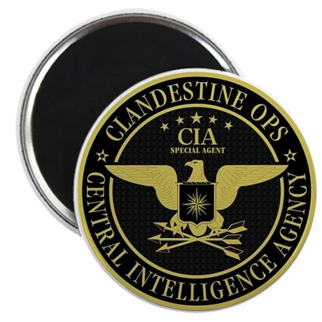 CIA Clandestine Ops Magnet