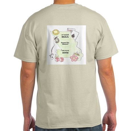 Official SGGA 2009 LOGO Light T-Shirt