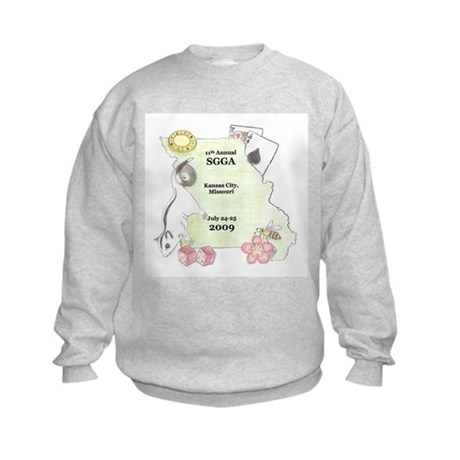 Official SGGA 2009 LOGO Kids Sweatshirt