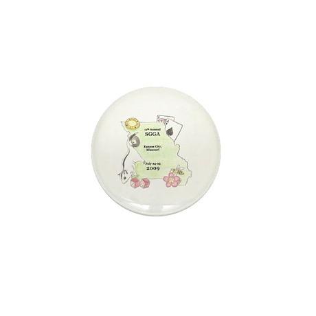 Official SGGA 2009 LOGO Mini Button
