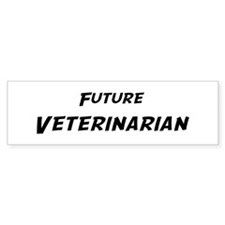 Future Veterinarian Bumper Bumper Sticker