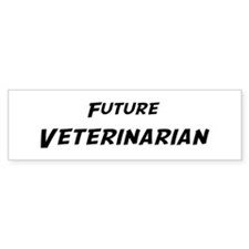 Future Veterinarian Bumper Bumper Sticker
