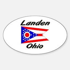 Landen Ohio Oval Decal