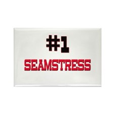 Number 1 SEAMSTRESS Rectangle Magnet