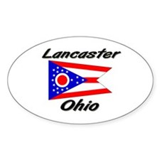 Lancaster Ohio Oval Decal
