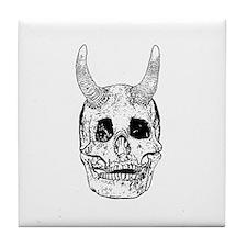 Devil A Tile Coaster
