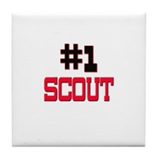 Number 1 SCOUT Tile Coaster