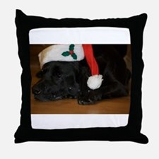 Cute Holiday party Throw Pillow