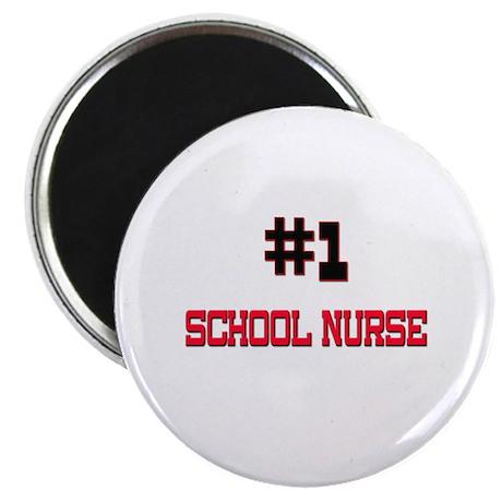 Number 1 SCHOOL NURSE Magnet