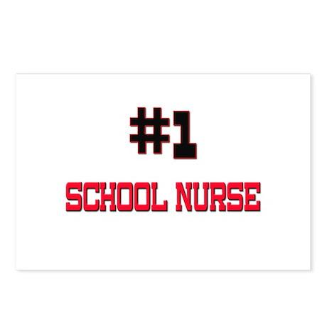 Number 1 SCHOOL NURSE Postcards (Package of 8)