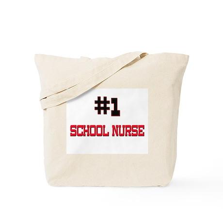 Number 1 SCHOOL NURSE Tote Bag
