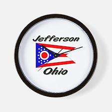 Jefferson Ohio Wall Clock