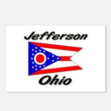 Jefferson Ohio Postcards (Package of 8)