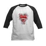 Heart Pegasus Kids Baseball Jersey