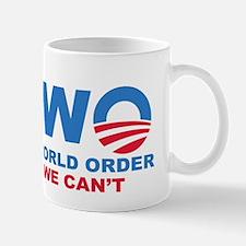 No Obama NWO No we can't Mug