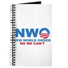 No Obama NWO No we can't Journal
