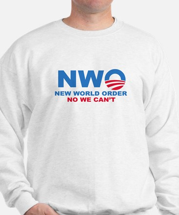 No Obama NWO No we can't Jumper