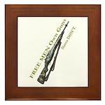 Free Men own rifles#2 Framed Tile