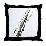 Free Men own rifles#2 Throw Pillow