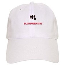 Number 1 SALES REPRESENTATIVE Baseball Cap