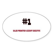 Number 1 SALES PROMOTION ACCOUNT EXECUTIVE Decal