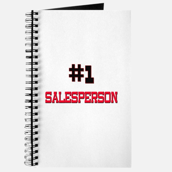 Number 1 SALESPERSON Journal