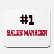 Number 1 SALES MANAGER Mousepad