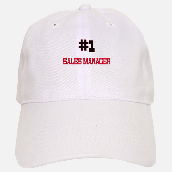 Number 1 SALES MANAGER Baseball Baseball Cap