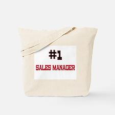 Number 1 SALES MANAGER Tote Bag