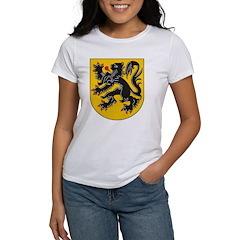 Flanders Coat Of Arms Women's T-Shirt