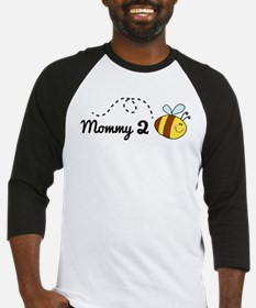 Mommy 2 Bee Baseball Jersey